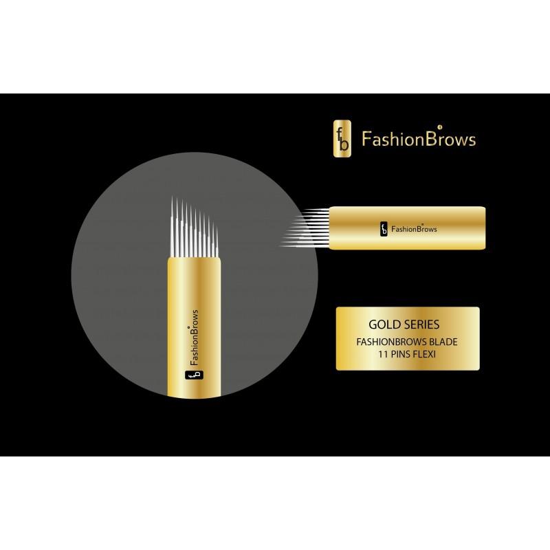 OSTRZE 11 PINS/0.18 GOLD