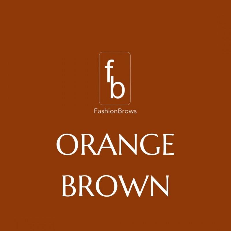 FASHION PMU ORANGE BROWN